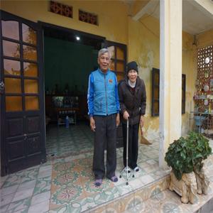 2. Cụ Nguyễn Thị Năm: 75 tuổi - Đồ Sơn-Hải Phòng 1