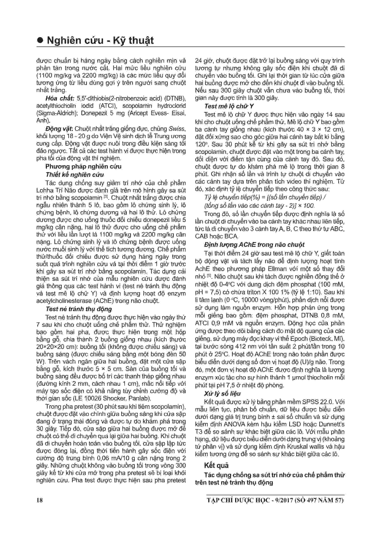 Kết quả nghiên cứu hiệu quả Lohha Trí Não đăng trên tạp chí Dược Học 2